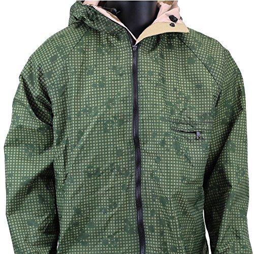 adventure tech reversible goretex rain jacket 3 color