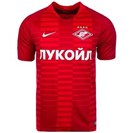 939ab6c91cae2 Amazon.com : Nike 2018-2019 Spartak Moscow Home Football Soccer T ...