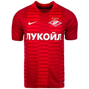 Nike 2018-2019 Spartak Moscow Home Football Soccer T-Shirt Camiseta: Amazon.es: Deportes y aire libre