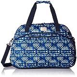 Roxy Women's Too Far Duffle Bag, Dress Blues Geometric Feeling