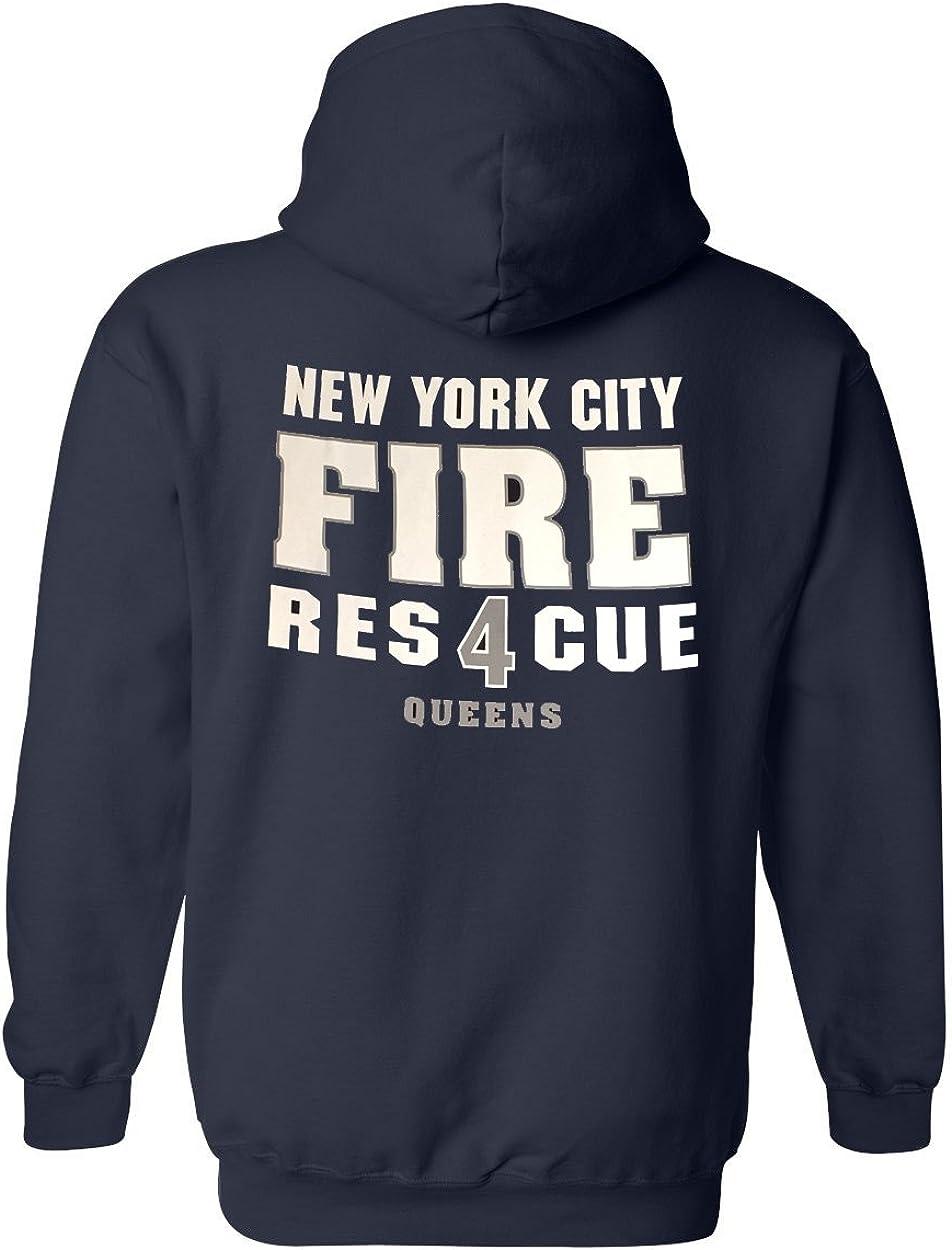Fishers Sportswear NYC Rescue 4 Queens Hooded Sweatshirt