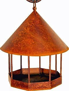 Vogelfutterhalter /'Herz/' aus Metall 34 cm 2er-Set