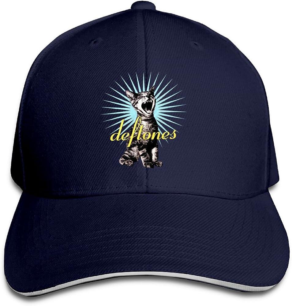Deftones Band White Pony Koi No Yokan Sandwich Bill Cap Baseball Hats Summer