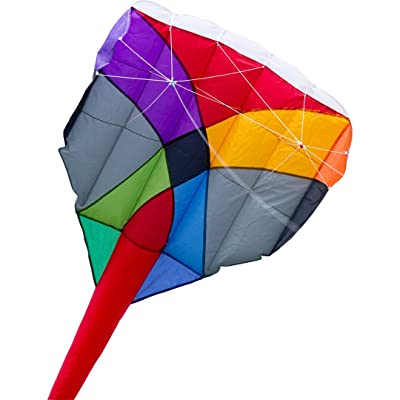 HQ Kites Camouflage Convertible Sport Kite - Multi-Kite - 484 Inches Including Tail - Single or Dual Line Stunt Kite - Active Outdoor Fun for Ages 10 and Up: Toys & Games