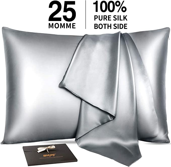 25 Momme 100% Natural Mulberry Silk Pillowcases