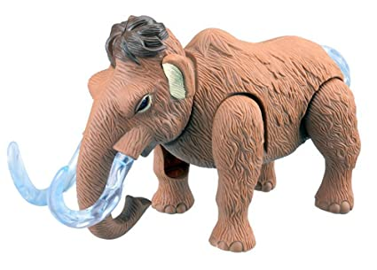 Amazon.com  Electronic Walking Wooly Mammoth Toy Elephant With ... a5165b152