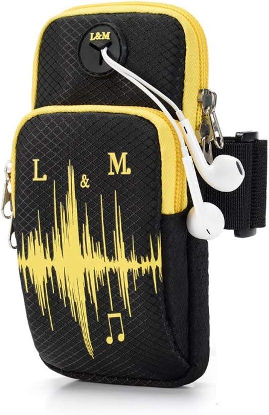 Bolsa De Brazo Soporte para teléfono con brazalete para correr, bolso para brazalete deportivo para iPhone Samsung Galaxy Celular Hasta 5.4-6.1