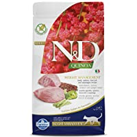 Farmina N&D Functional Quinoa Weight Management Lamb Broccoli and Asparagus Dry Cat Food 3.3 Pounds