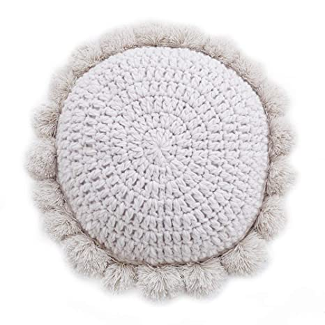 RUYII Nordic Pillow Vintage Pretty Hand Crochet Tejer A Mano ...