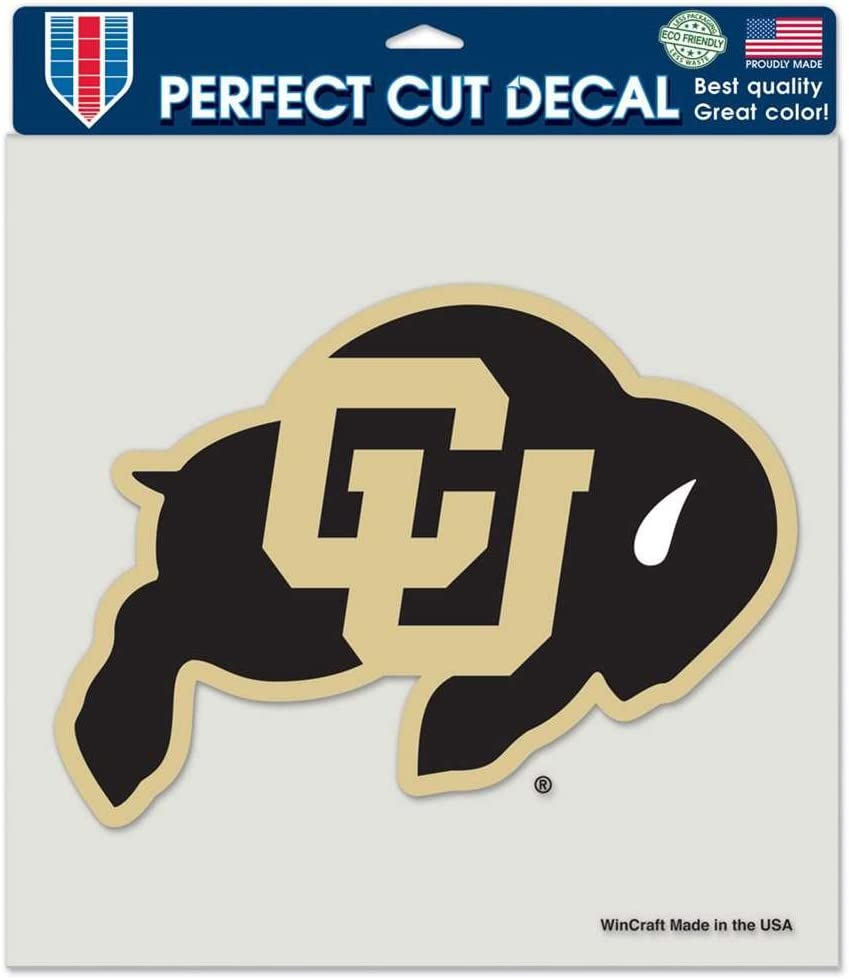 "WinCraft Colorado Buffaloes Full Color Die Cut Decal - 8"" X 8"""