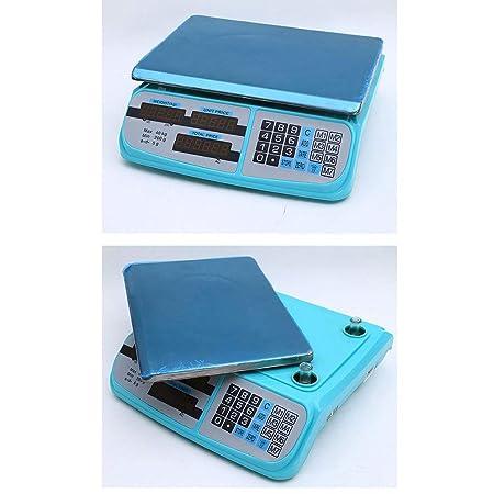 WCX Balanza Electronica Báscula Digital Smart Weigh, 40kg ...