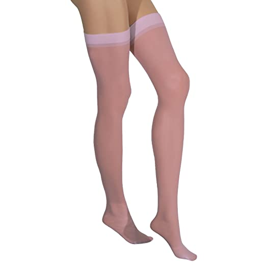 9c1796761 Image Unavailable. Image not available for. Color  Elegant Moments - Sheer  Thigh High ...