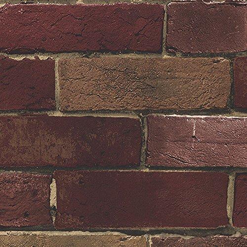Faux Wallcoverings (Faux Brick Wallpaper)