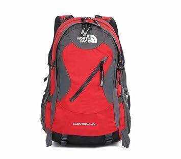 AllureFeng Montañismo al aire libre bolsa impermeable capacidad 40 litros mochila senderismo deportes de aventura escalada rock para hombres y mujeres ...