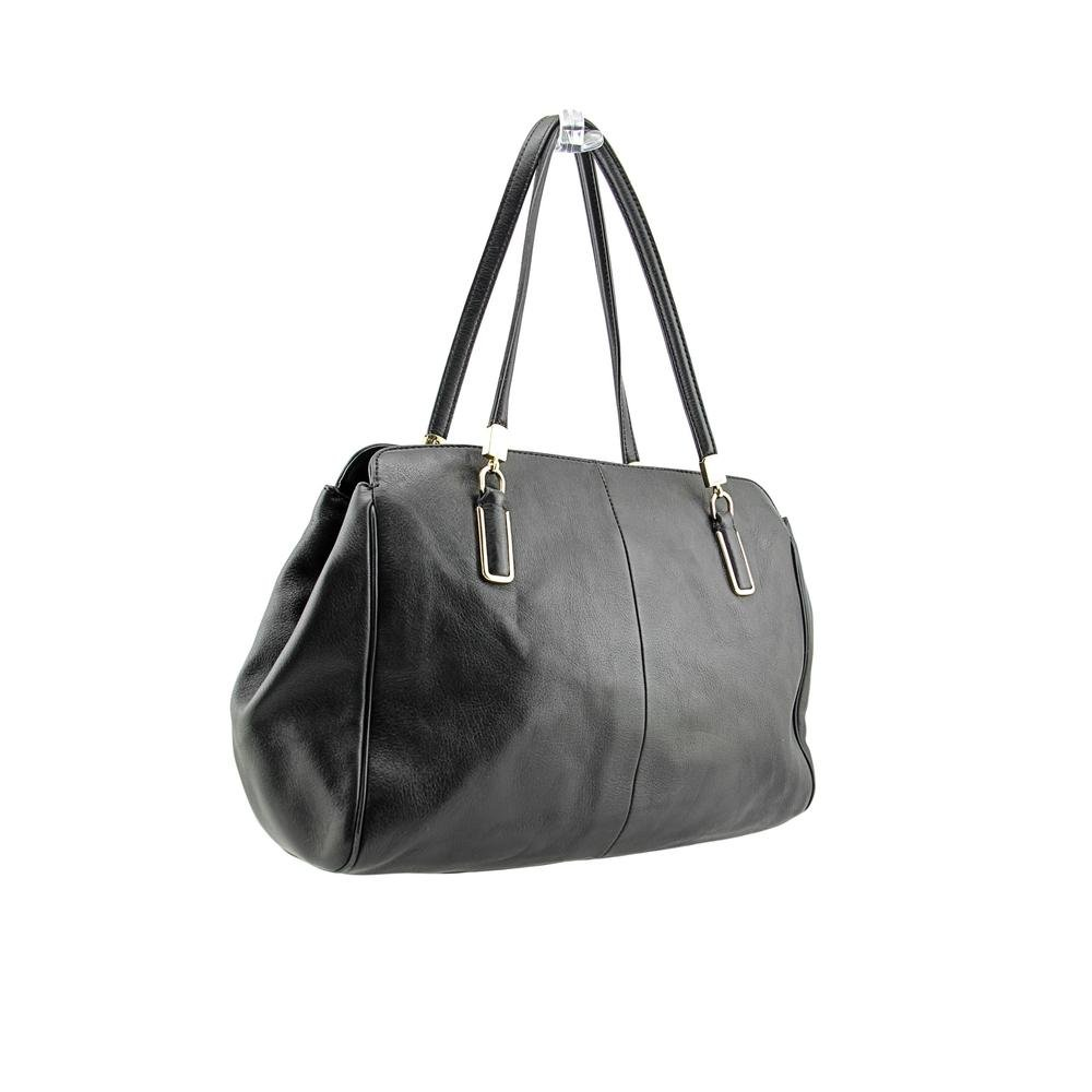 Amazon.com: Coach Madison piel Kimberly Carryall Negro: Shoes