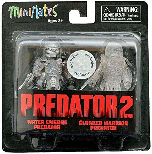 Predator 2 Minimates -- Water Emerge Predator and Cloaked Warrior Predator -- Toys
