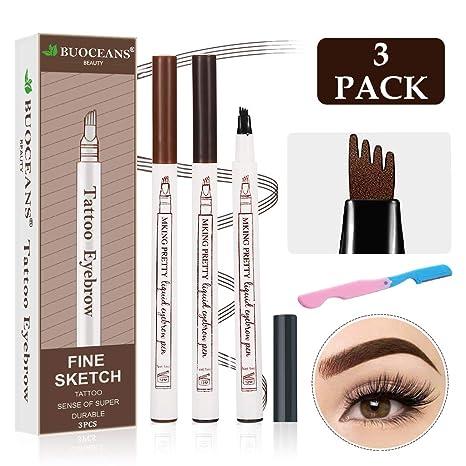 Amazon.com: Tattoo Eyebrow, Lápiz de cejas líquido, las ...