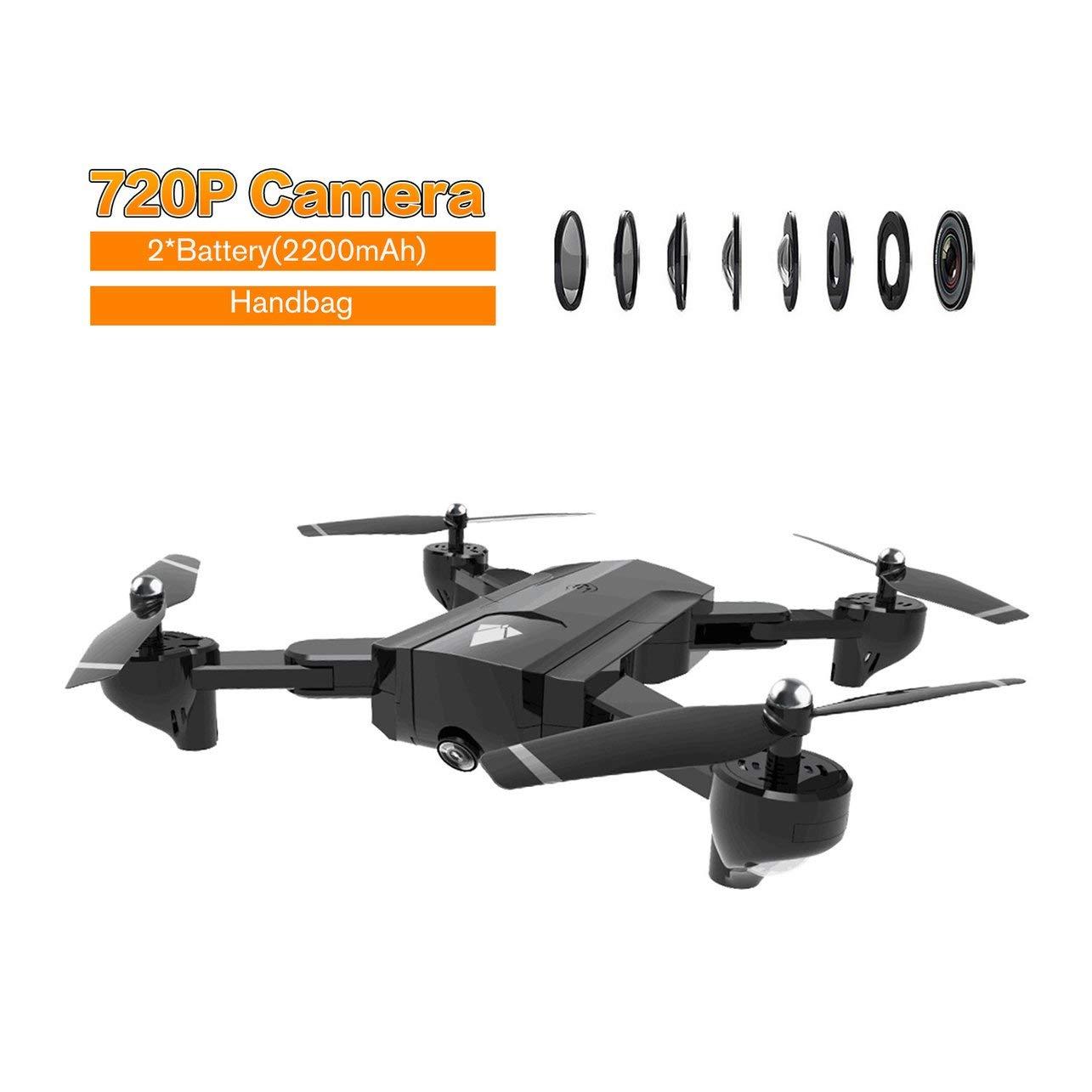 promocionales de incentivo Negro WOSOSYEYO SG900 Drone RC Plegable Plegable Plegable 2.4GHz WiFi FPV Drones Flujo óptico Posicionamiento Drone RC con cámara 720P y batería 2  2200mAh  Esperando por ti
