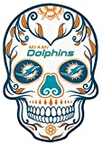 Applied Icon, NFL Miami Dolphins Large Skull Primary Decal