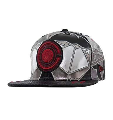 new style 7ea24 7b493 New Era Cyborg Justice League Armor 59Fifty Fitted Hat- 8  Amazon.co.uk   Clothing