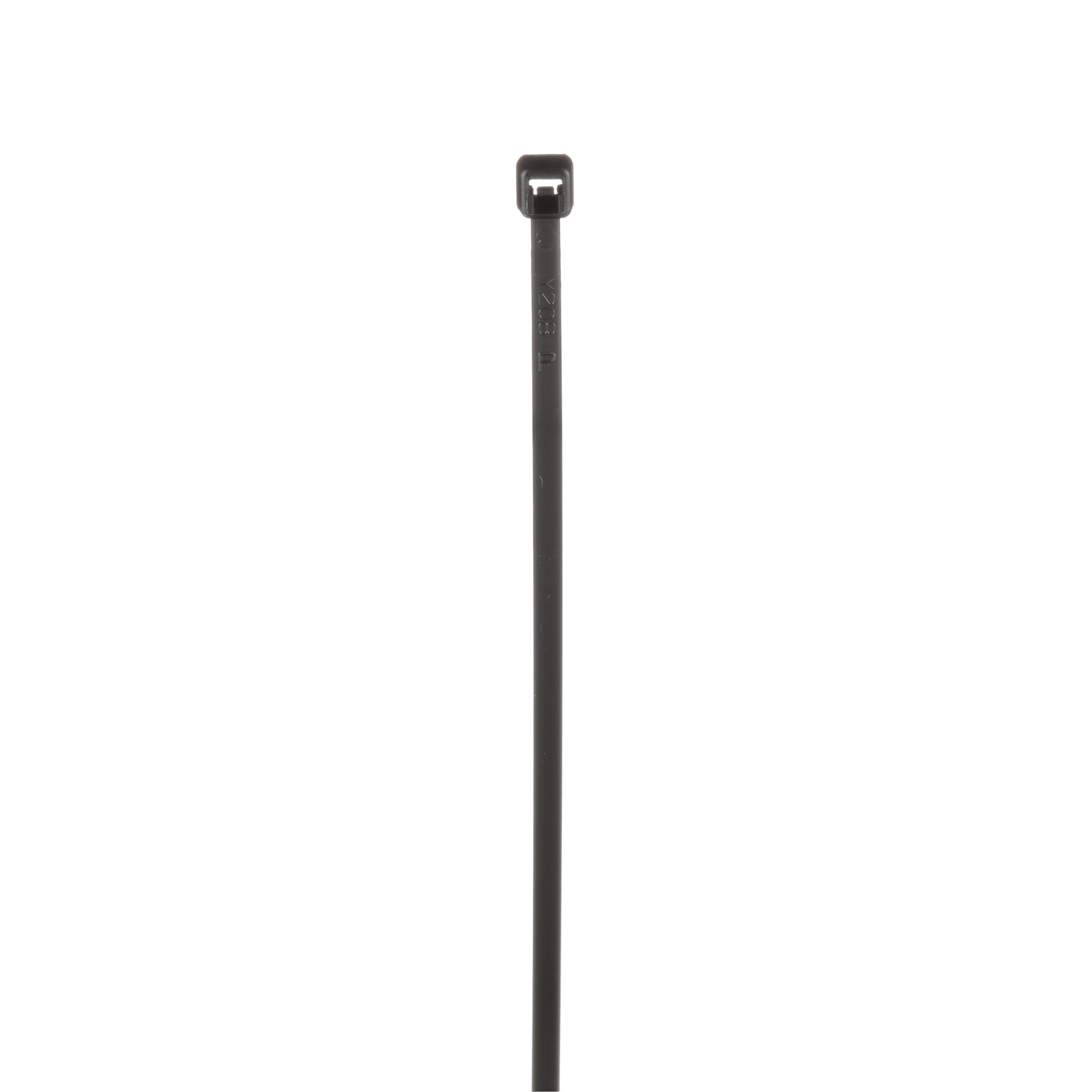 Panduit PLT2M-M20 Cable Tie, Miniature, Nylon 6.6, 8.0-Inch Length, Black (1,000-Pack)