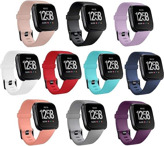 10PCS Fitbit Versa 2 Bands Replacement For Fitbit Versa  Versa 2 Versa Lite SE