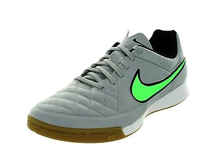 b8f0bf9b7b NIKE Tiempo Genio Leather IC, Training Football Shoe Man: Amazon.co.uk:  Shoes & Bags