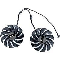 T129215SU ventilator Graphics Card Fan voor Gigabyte GTX 1050 Ti RX 480 470 570 580 GTX 1060 G1 Gaming Aorus Windforce…