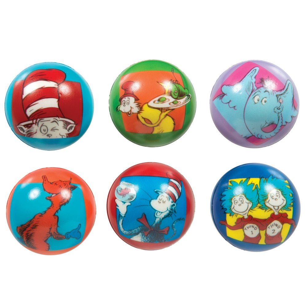24//Box Raymond Geddes Dr Seuss Stress Ball 70636