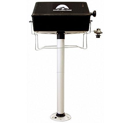 Amazon.com: Parrilla de barbacoa con pedestal: Jardín y ...