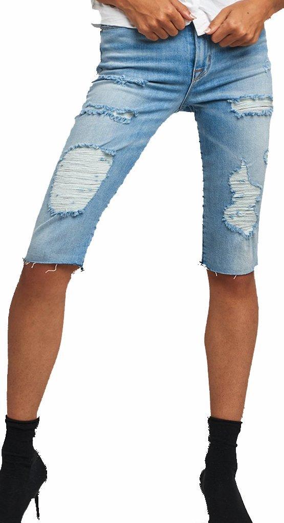 HUDSON Women's Short Zoeey HIGH Rise Jean Shorts Love ST WHR623DCX LVES (24)