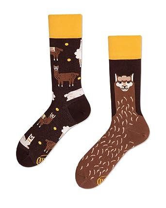 Geschicktes Design große Auswahl die beste Einstellung Many Mornings unisex Socken Fluffy Alpaca