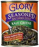 Glory Foods, Seasoned, Kale Greens, 27oz Can (Pack of 4)