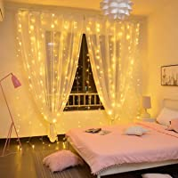 Twinkle Lights Decorations 300 LED Lights for Party, Birthday Decorations Curtain Lights Wedding Party Home Garden…