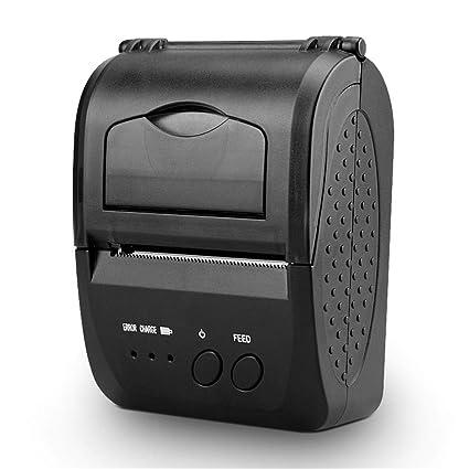 Cherishly Recibo Bluetooth inalámbrica de la Impresora térmica ...