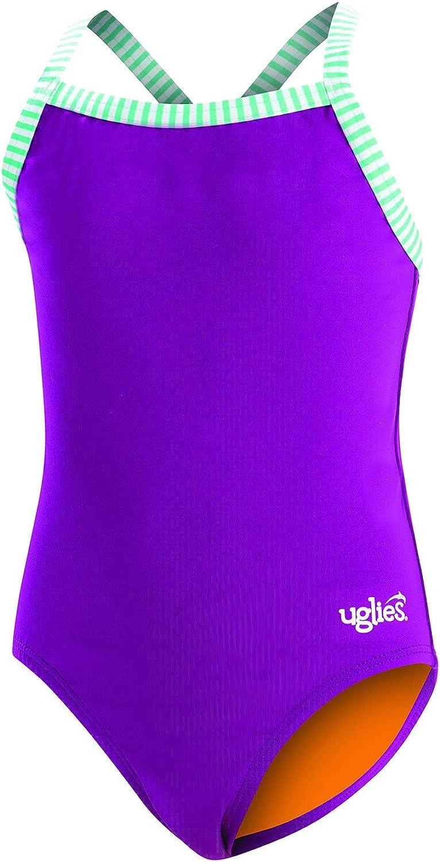 Dolfin Uglies Girls Solid 1-Piece