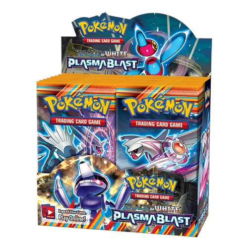 Pokémon Trading Card Game: Black & White —Plasma Blast Booster Display (36 Packs) (Pokemon Black And White Plasma Blast Booster Box)