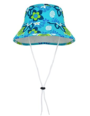 4d04a2a8f10 TUGA Sunwear Girls Sun Hat With UV Protection UPF50 + Baby Girls Sunsuit
