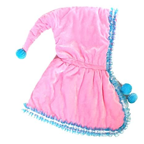 Magideal Baby para bebé Pelele de Invierno perchero de pared de capa con capucha capa Poncho