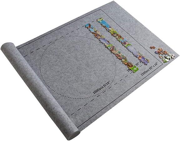 cinnamou Professionelle Puzzle Rolle Matte Puzzle Speicher Saver Filz Matte Decke mit Reise Aufbewahrungtasche