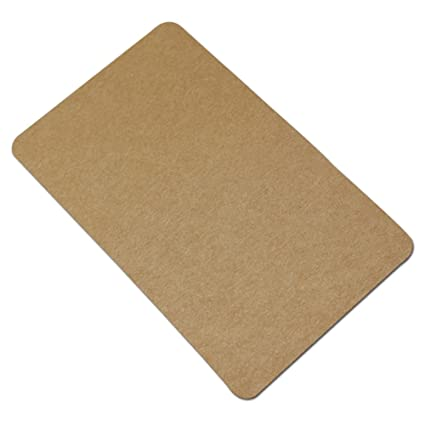Amazon 24x39 inch blank kraft paper business cards for word 24x39 inch blank kraft paper business cards for word message writable craft paper colourmoves