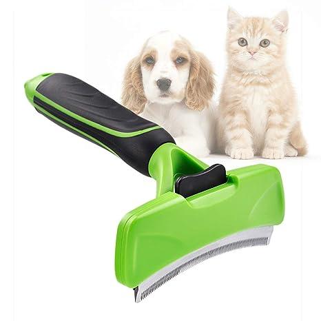 Cepillo Pelo Muerto para Perros y Gatos de Pelo Largo o Corto Herramienta de Muda Elimina
