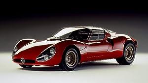 Lilarama USA 1967-Alfa-Romeo-Tipo-33-Stradale-Prototipo-V1- - Super Car Classic Car - Giant Poster Print - Cool Wall Decor Art Print Poster