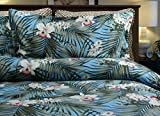 Tropical Island Life Bedding By Dean Miller - Queen / Full Size Duvet Cover with Std Shams