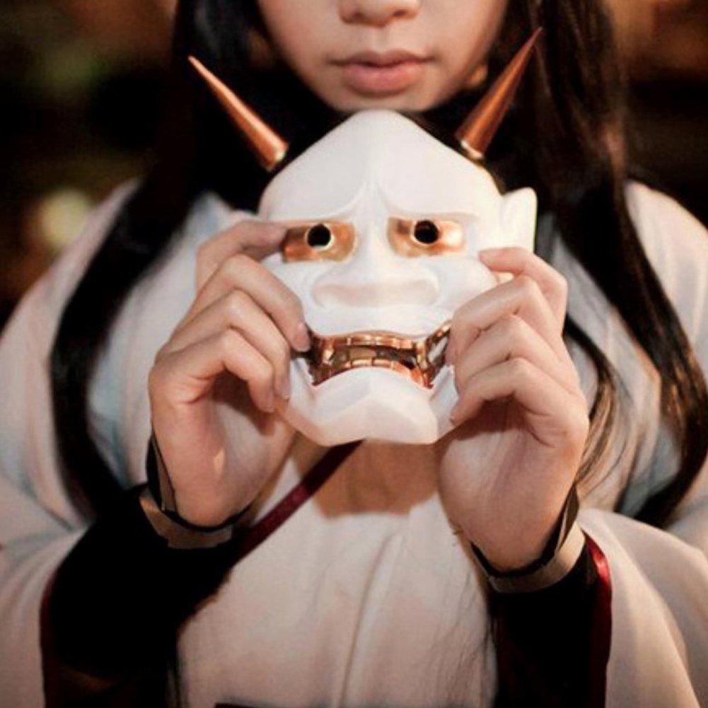 Amazon.com: GeKLok - Máscara japonesa de Hannya Omen para ...