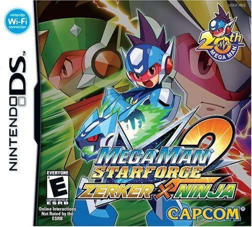 Mega Man Star Force 2 Zerker X Ninja Nintendo Ds Nintendo Ds Computer And Video Games Amazon Ca