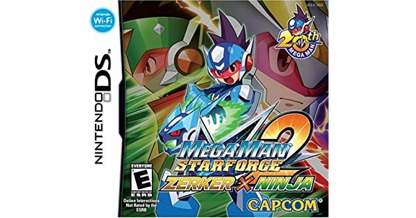 Amazon.com: Mega Man Star Force 2 Zerker X Ninja - Nintendo ...