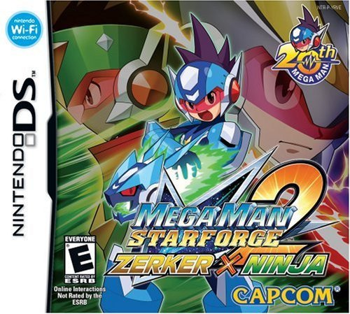 Amazon.com: Mega Man Star Force 2 Zerker X Ninja - Nintendo ...