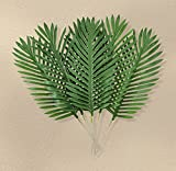 Set of 12 24'' Artificial Palm Branch