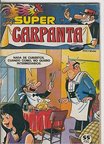 Super Carpanta numero 42 Comics – 1980